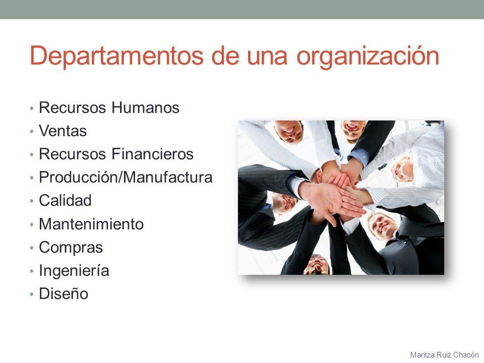 Maritza Ruiz Chacón ¿Qué responsabilidades tiene cada departamento en el logro de la satisfacción al cliente?
