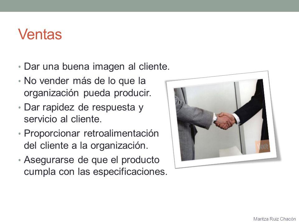 Maritza Ruiz Chacón Recursos Financieros Verificar que no haya desperdicios.