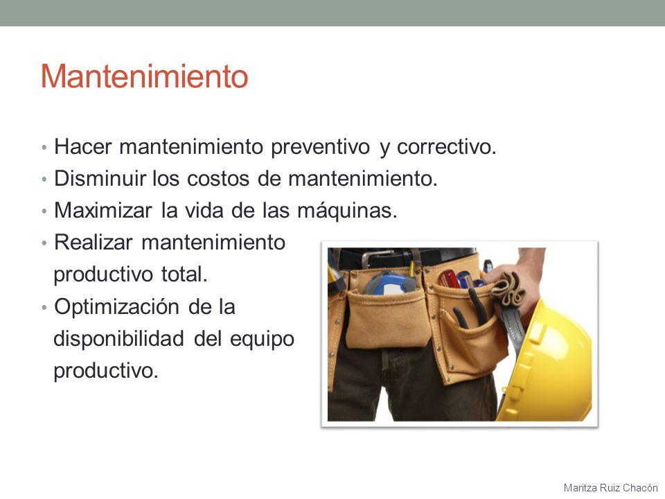 Maritza Ruiz Chacón Compras Comprar materia prima de calidad.