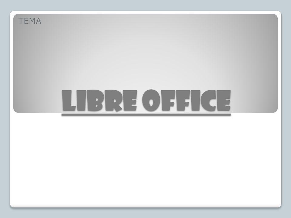 LIBRE OFFICE TEMA