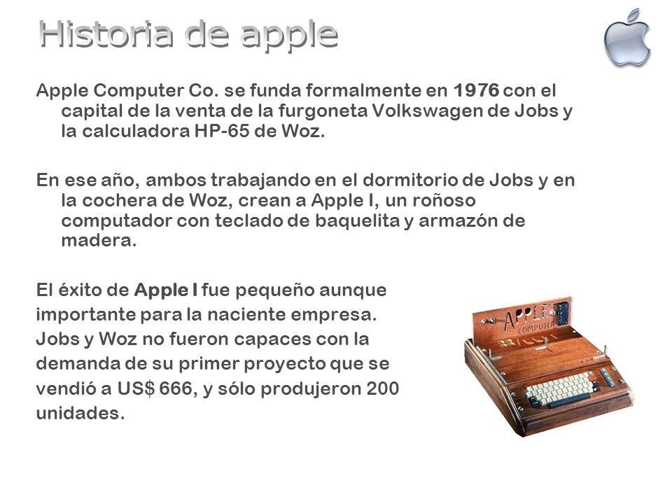 Apple II vio la luz en 1977, su precio de lanzamiento fue de US$ 1298.