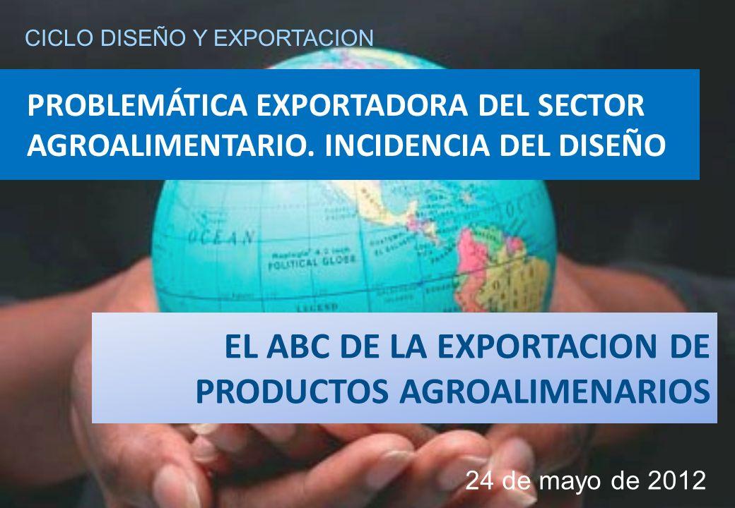 PROBLEMÁTICA EXPORTADORA DEL SECTOR AGROALIMENTARIO.