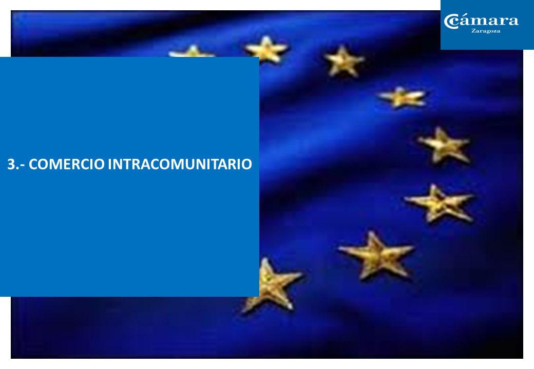 3.- COMERCIO INTRACOMUNITARIO