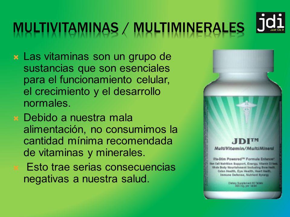 Mantente activo.1 frasco mensual de JDI MultiVitamin/Multimineral en autoenvío.