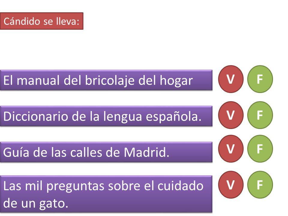 El manual del bricolaje del hogar Diccionario de la lengua española.
