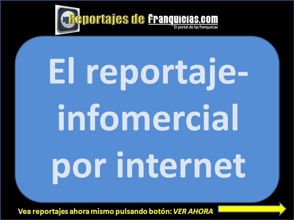 El reportaje- infomercial por internet