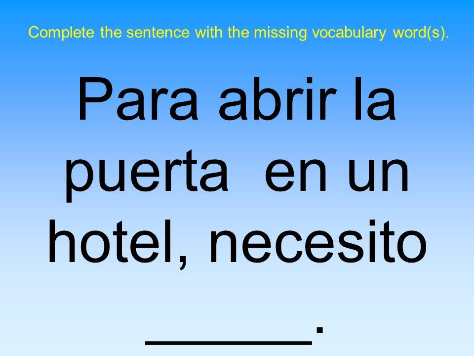 Costa Rica es un país en el continente _____. Complete the following sentence.