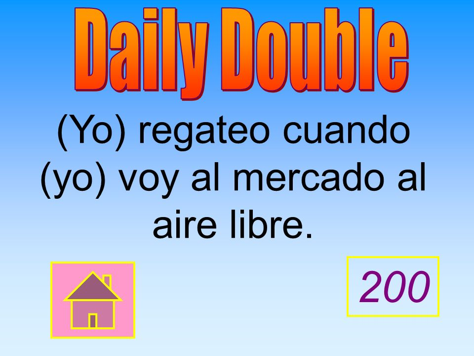 200 Give the correct PRESENT PROGRESSIVE form of the verbs.