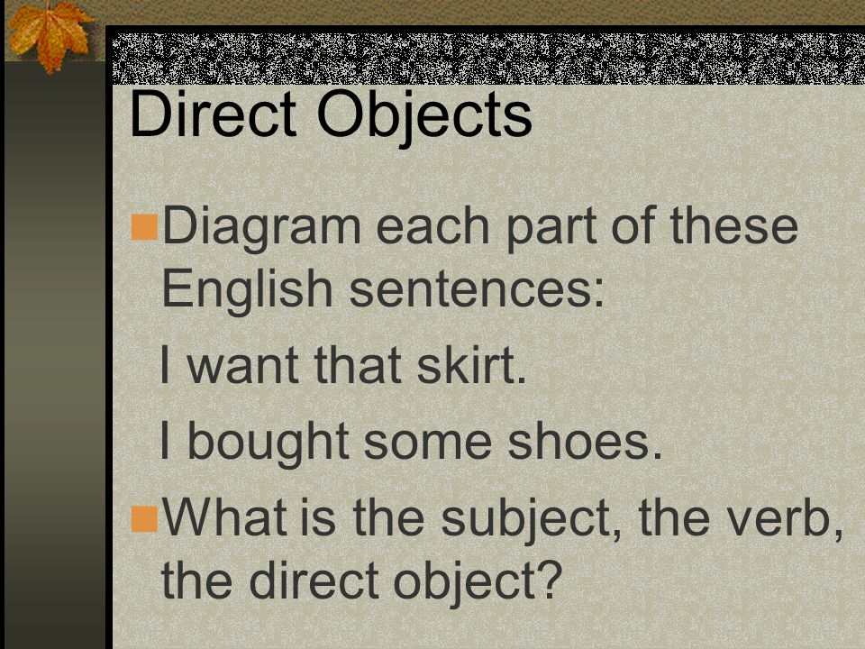 p. 41 Avancemos 2 Direct Object Pronouns