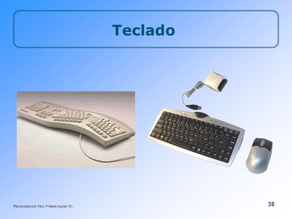 Recopilado por: Msc. Fressie Aguilar Ch. 38 Teclado