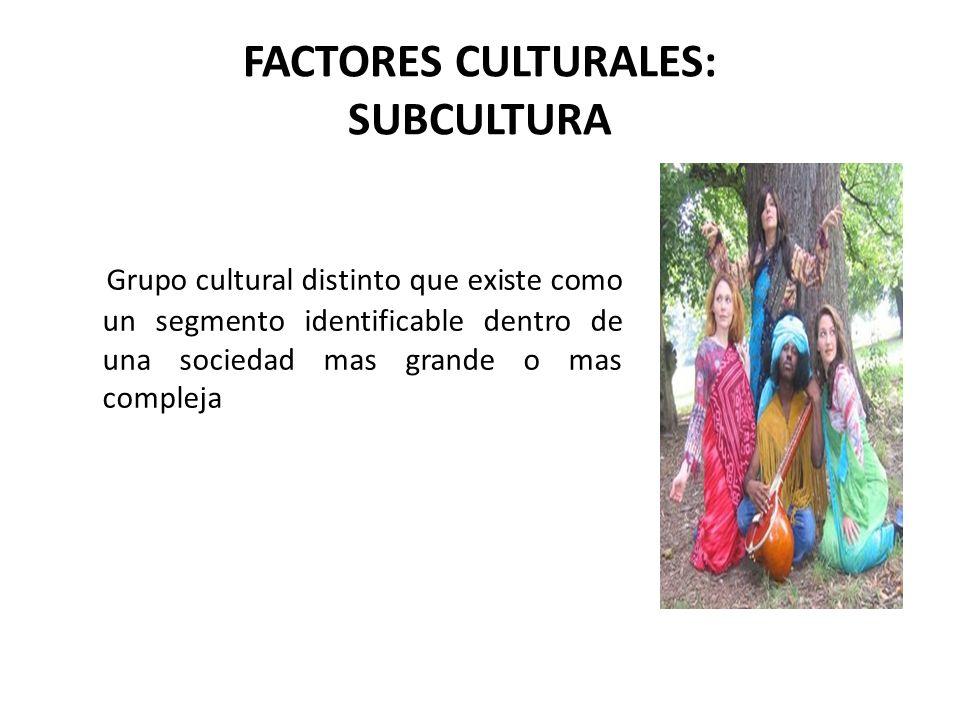 FACTORES CULTURALES: CLASE SOCIAL Se refiere al proceso en virtud del cual, los miembros de una sociedad se clasifican unos con otros en diversas posiciones sociales.