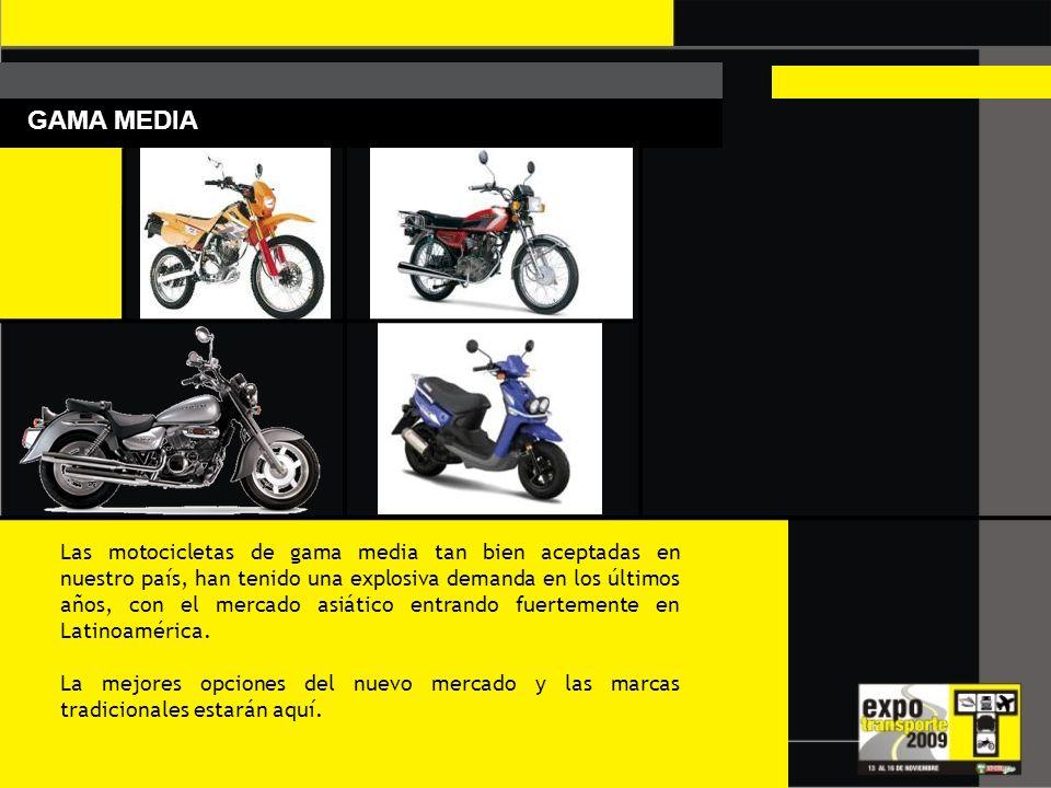 MOTOS Y CUATRIMOTOS La velocidad estará manifestada en esta muestra por medio de los mejores fabricantes de motocicletas, los cuales tendrán también s