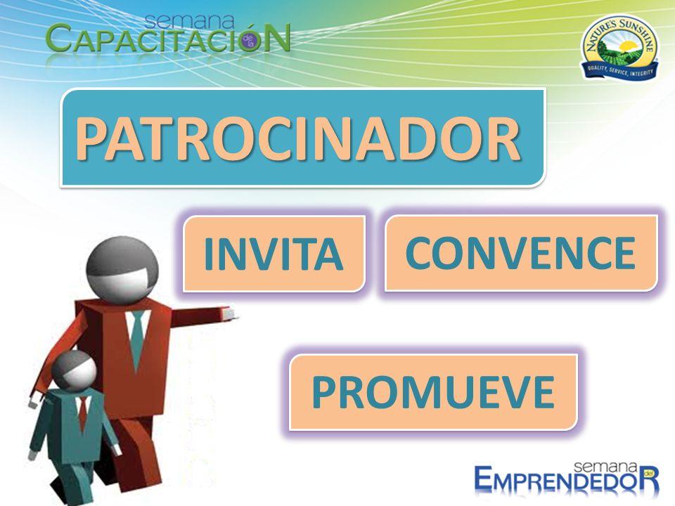 PATROCINADORPATROCINADOR INVITA CONVENCE PROMUEVE