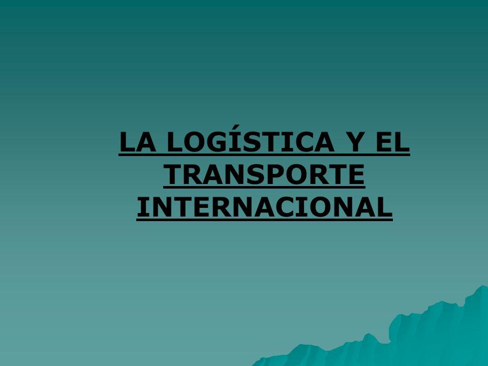 INDICE: 1.INTRODUCCION: LOGISTICA Y TRANSPORTE.2.EL TRANSPORTE INTERNACIONAL DE MERCANCIAS 2.1.