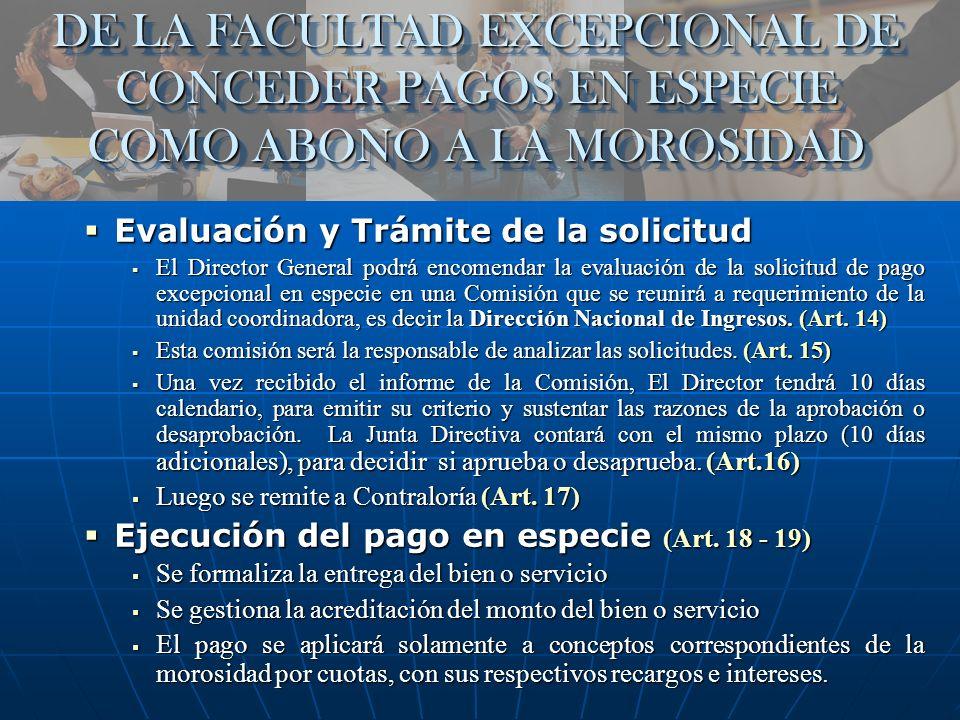 DE LA FACULTAD PARA DECLARAR EL ARCHIVO PROVISIONAL DE LAS ACTUACIONES POR INCOBRABLES Archivo Provisional de Cuentas Incobrables (Art.