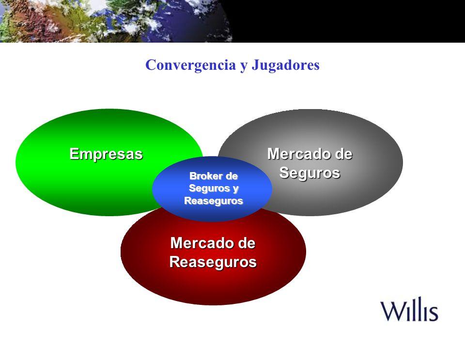 Empresas Mercado de Reaseguros Seguros Convergencia y Jugadores Broker de Seguros y Reaseguros