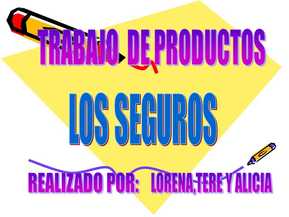 LOS SEGUROS Son empresas cuya actividad económica consiste en producir el servicio de seguridad cubriendo determinados riesgos económicos (riesgos asegurables) a las empresas y a los particulares.