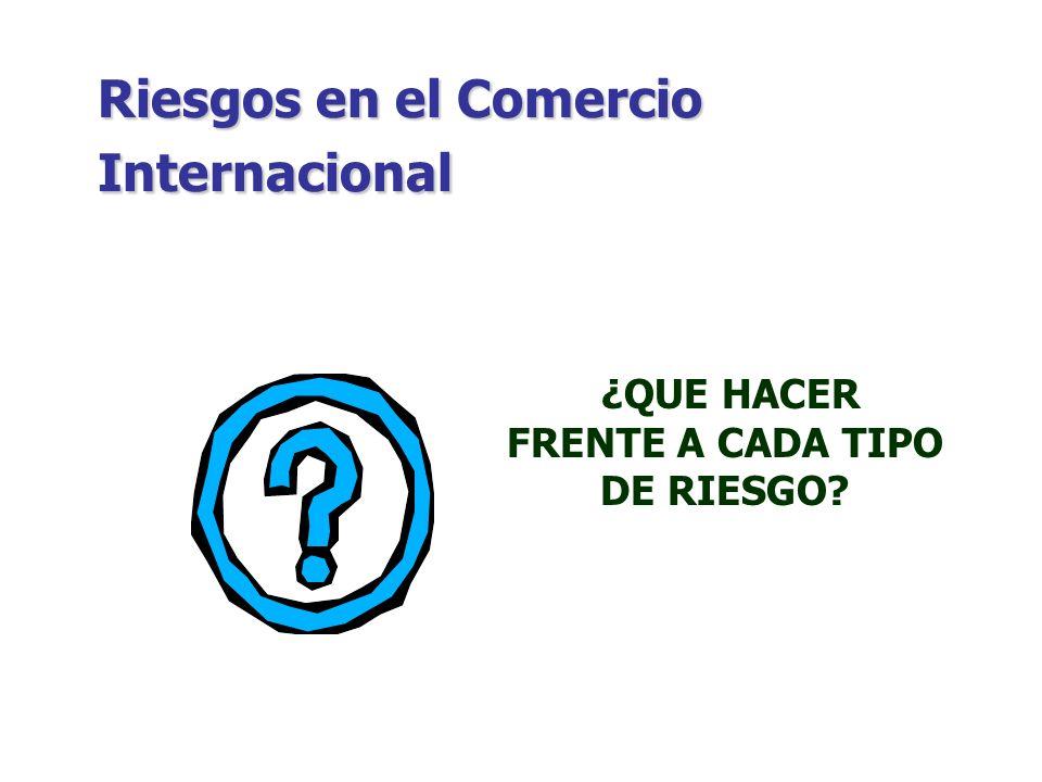 Riesgos y Seguros en el Comercio Internacional CONTRATO DE SEGURO Recomendaciones: a Indicar expresamente y con claridad las condiciones y alcances de la cobertura del seguro.