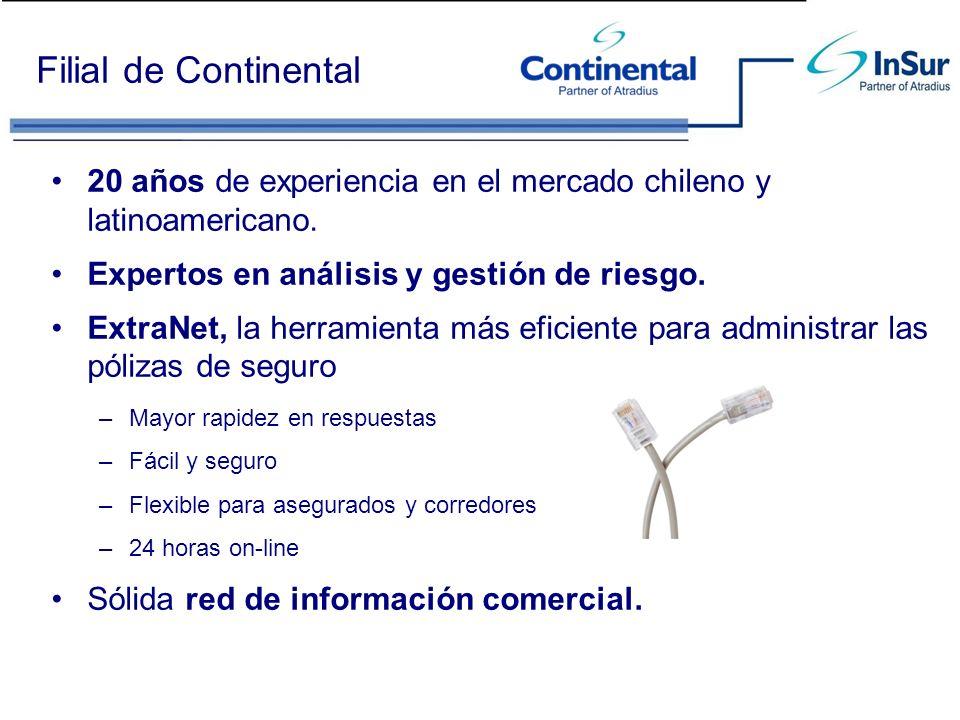 20 años de experiencia en el mercado chileno y latinoamericano. Expertos en análisis y gestión de riesgo. ExtraNet, la herramienta más eficiente para