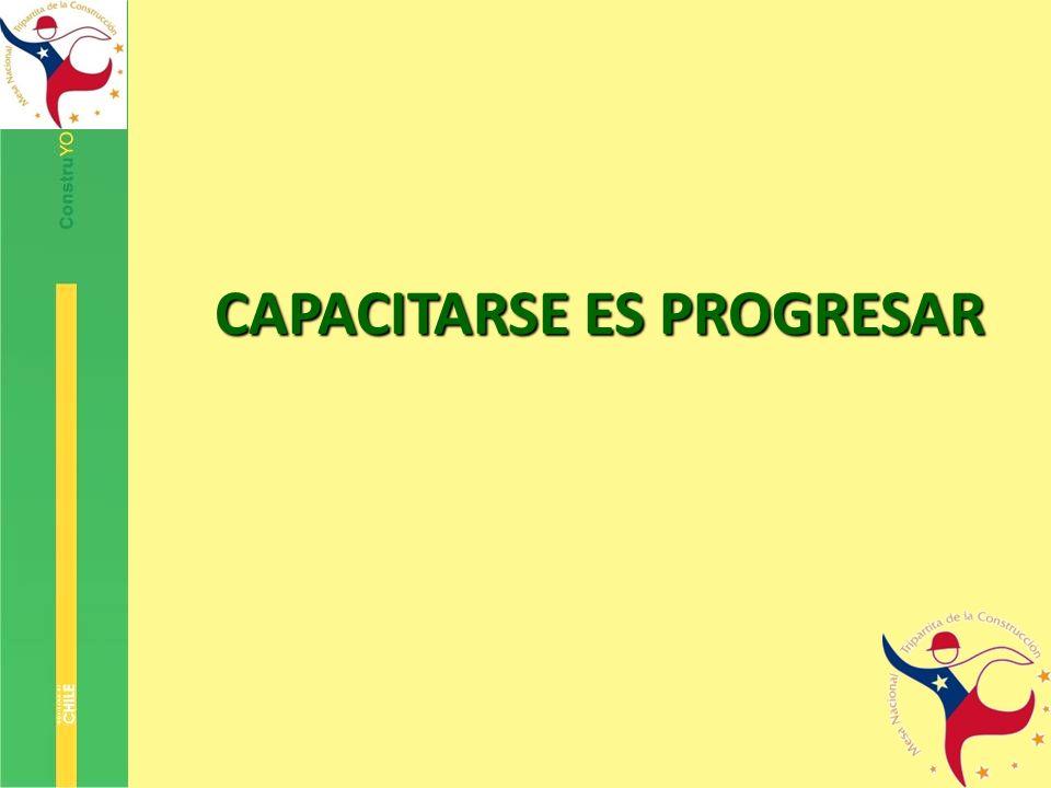 CAPACITARSE ES PROGRESAR