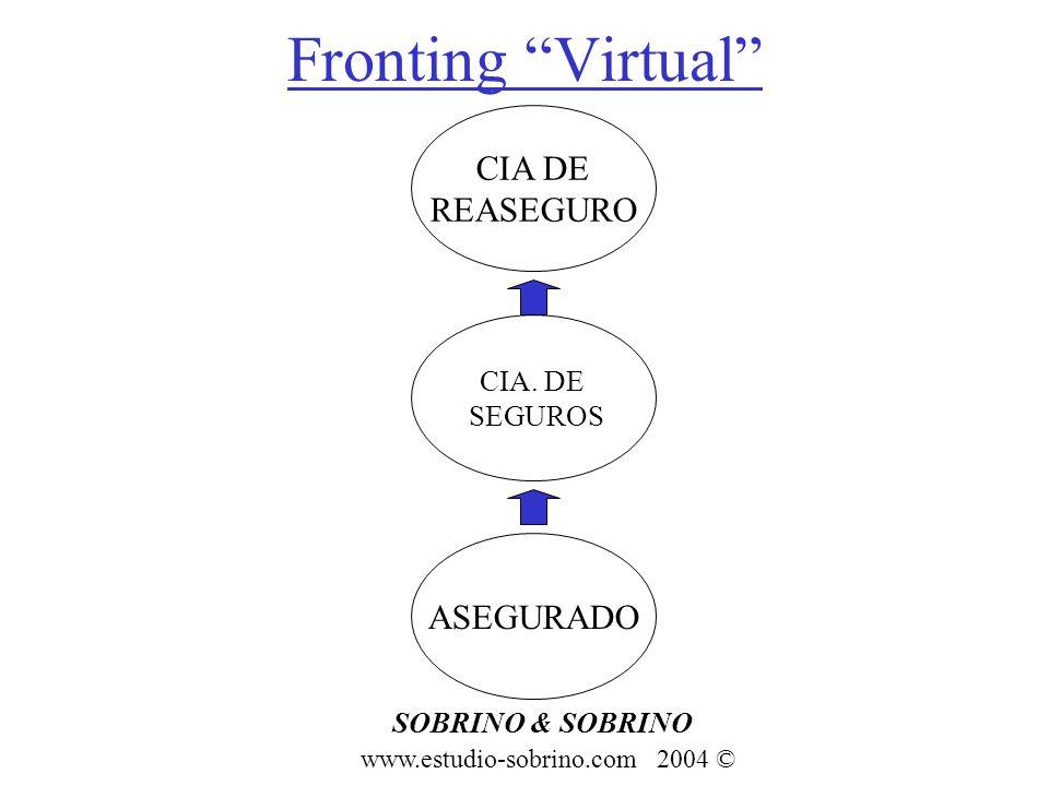 Fronting Virtual SOBRINO & SOBRINO www.estudio-sobrino.com 2004 © ASEGURADO CIA. DE SEGUROS CIA DE REASEGURO
