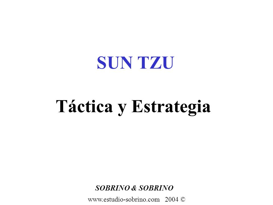 SOBRINO & SOBRINO www.estudio-sobrino.com 2004 © Estrategia: Herejías Futurología