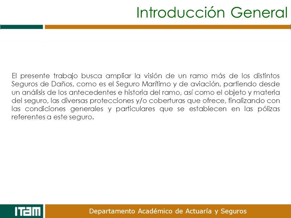 Departamento Académico de Actuaría y Seguros XI.