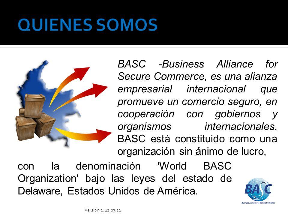 BASC Versión 2. 12.03.12