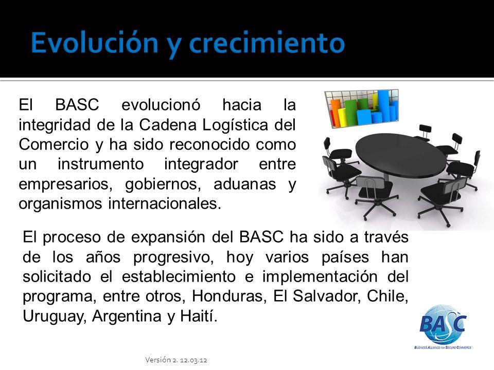 BASC fue creado hace diez años inicialmente como una alianza anti- contrabando, y hoy día ha ampliado su visión y dimensión hacia una Alianza Empresarial para el Comercio Seguro, con la misión de facilitar y agilizar el comercio Internacional, mediante el establecimiento y administración de estándares y procedimientos globales de seguridad aplicados a la cadena logística, en asociación con gobiernos, autoridades y empresas a nivel mundial.
