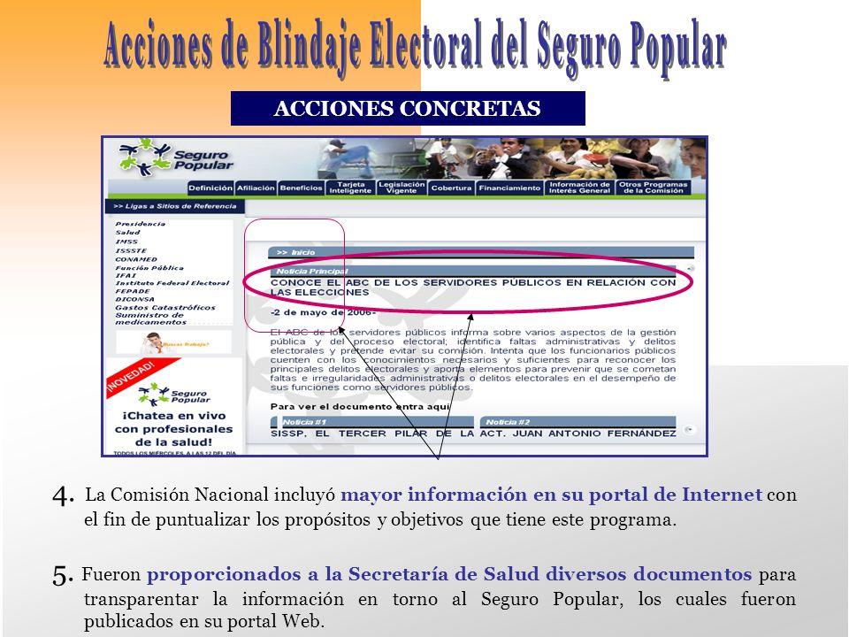 ACCIONES CONCRETAS 4.