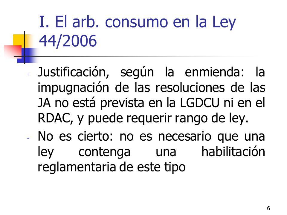6 I. El arb.