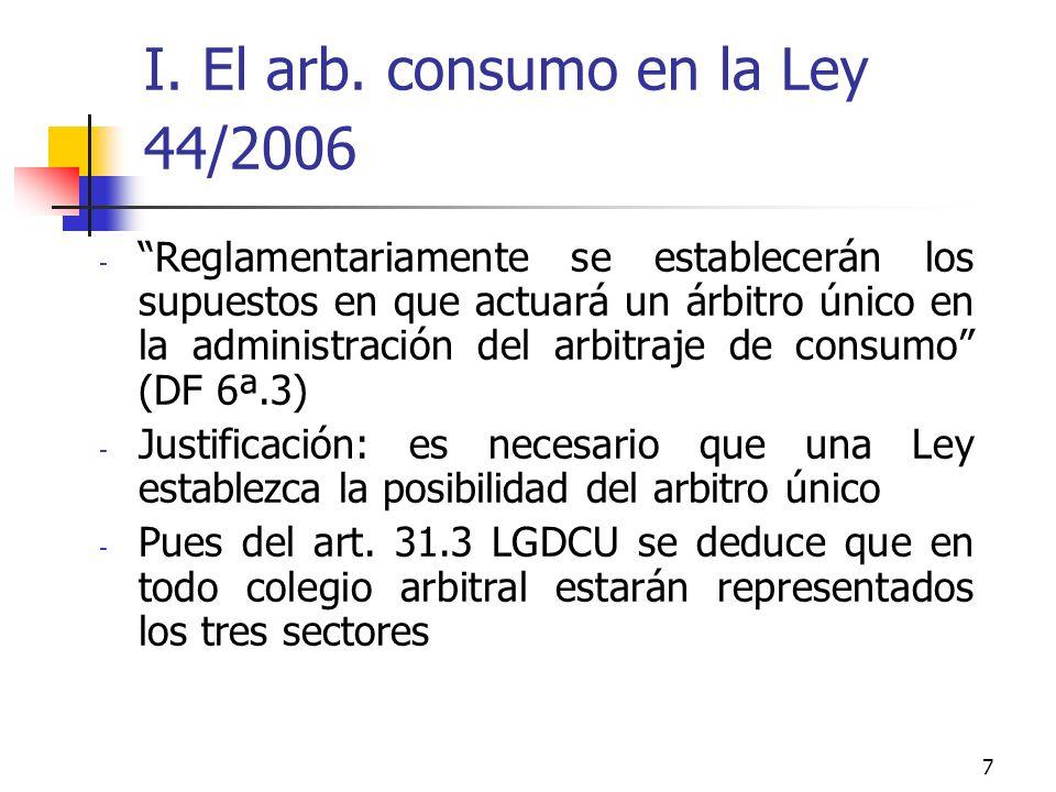 7 I. El arb.