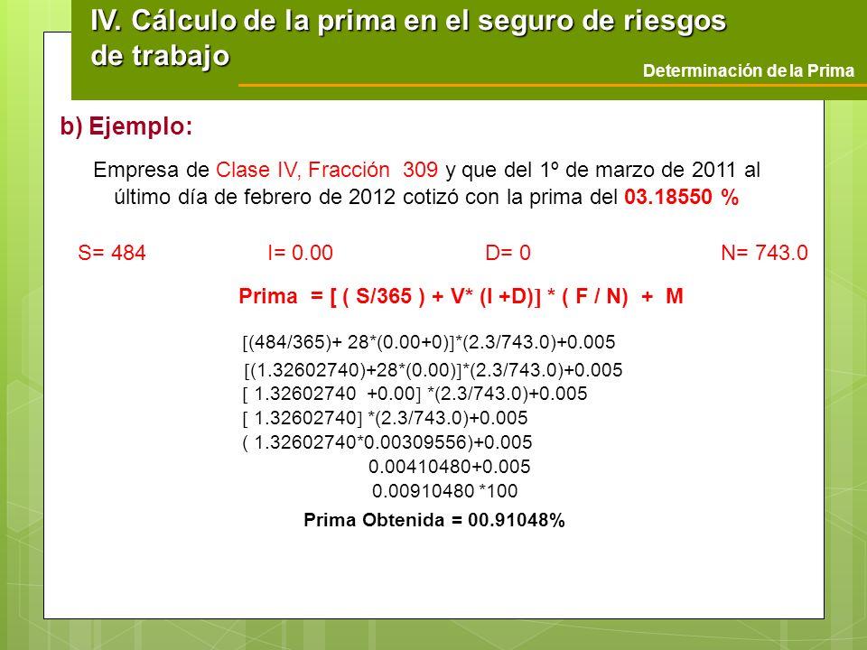 S= 484 I= 0.00 D= 0 N= 743.0 (484/365)+ 28*(0.00+0) *(2.3/743.0)+0.005 (1.32602740)+28*(0.00) *(2.3/743.0)+0.005 1.32602740 +0.00 *(2.3/743.0)+0.005 1