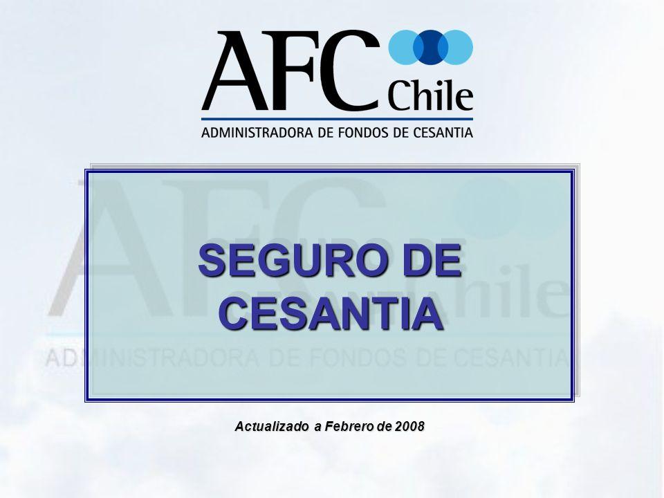 SEGURO DE CESANTIA Actualizado a Febrero de 2008