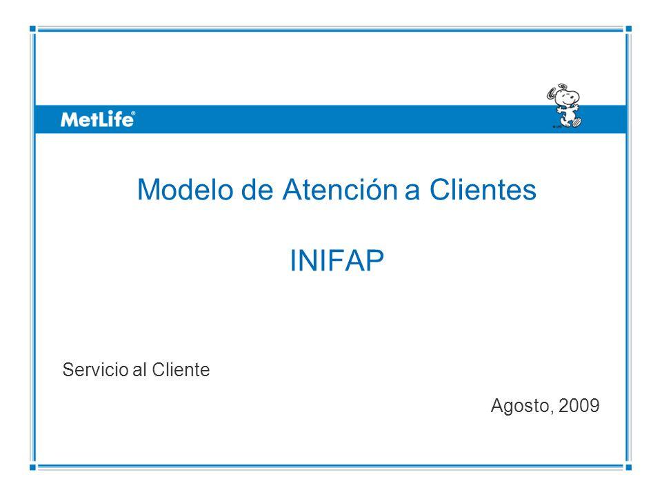 ©UFS Modelo de Atención a Clientes INIFAP Servicio al Cliente Agosto, 2009