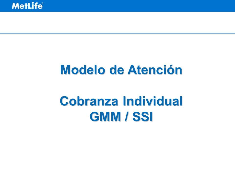 Modelo de Atención Cobranza Individual GMM / SSI