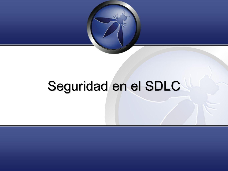 Seguridad en el SDLC