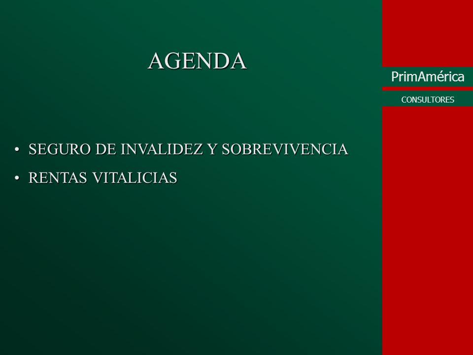 PrimAmérica CONSULTORES TASAS DE PRESENTACIÓN Y APROBACIÓN SEGURO DE INVALIDEZ Y SOBREVIVENCIA (AFILIADOS, 2001) Fuente: PrimAmérica Consultores - FIAP