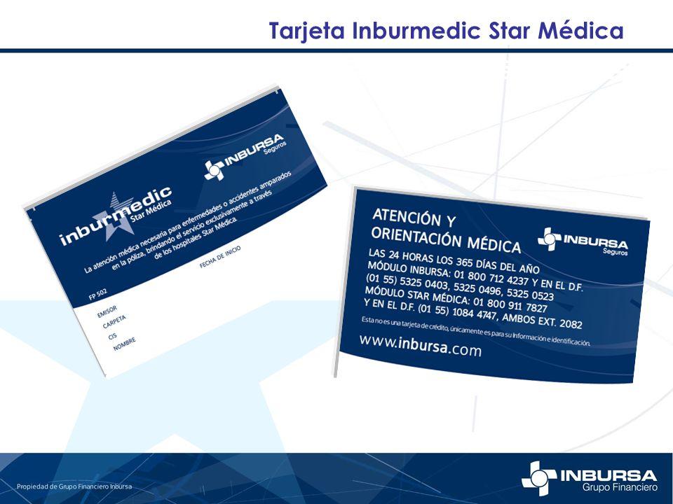 Tarjeta Inburmedic Star Médica