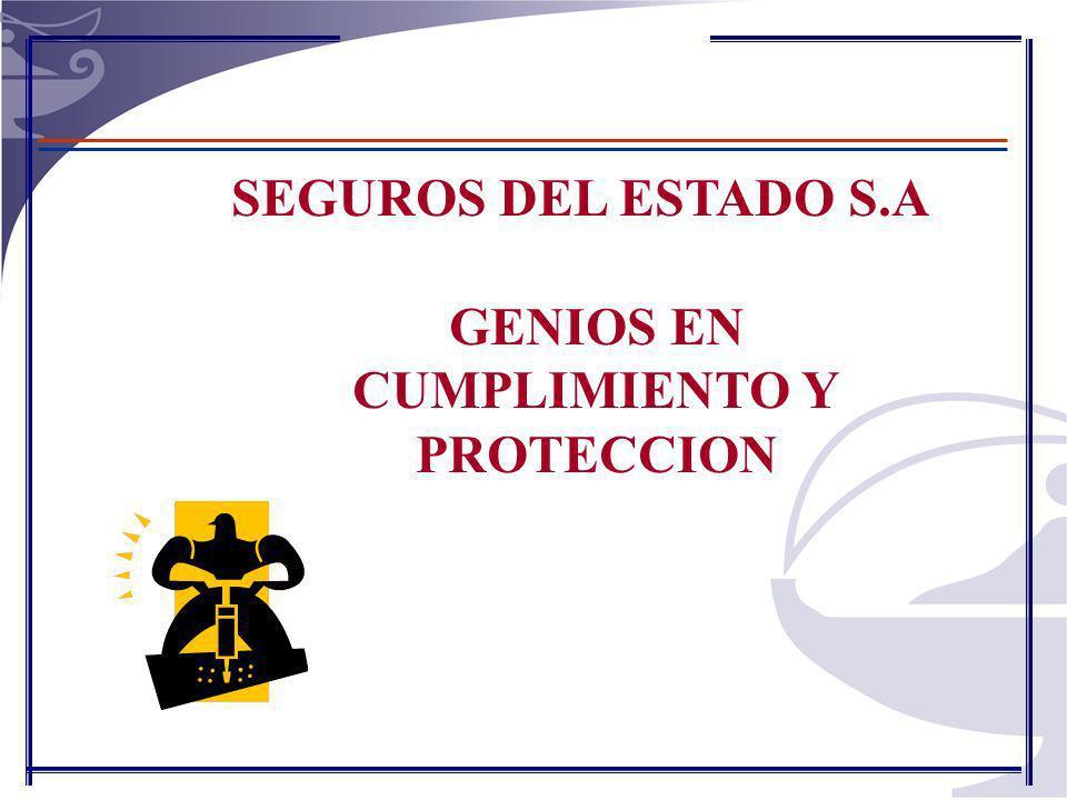 SEGUROS DEL ESTADO S.A GENIOS EN CUMPLIMIENTO Y PROTECCION