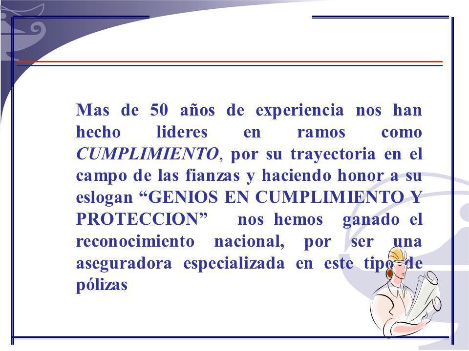 POLIZAS GRANDES BENEFICIARIOS INCLUYE ADEMAS EL PAGO DE LAS MULTAS Y EL VALOR DE LA CLAUSULA PENAL PECUNIARIA QUE SE HAGA EFECTIVA