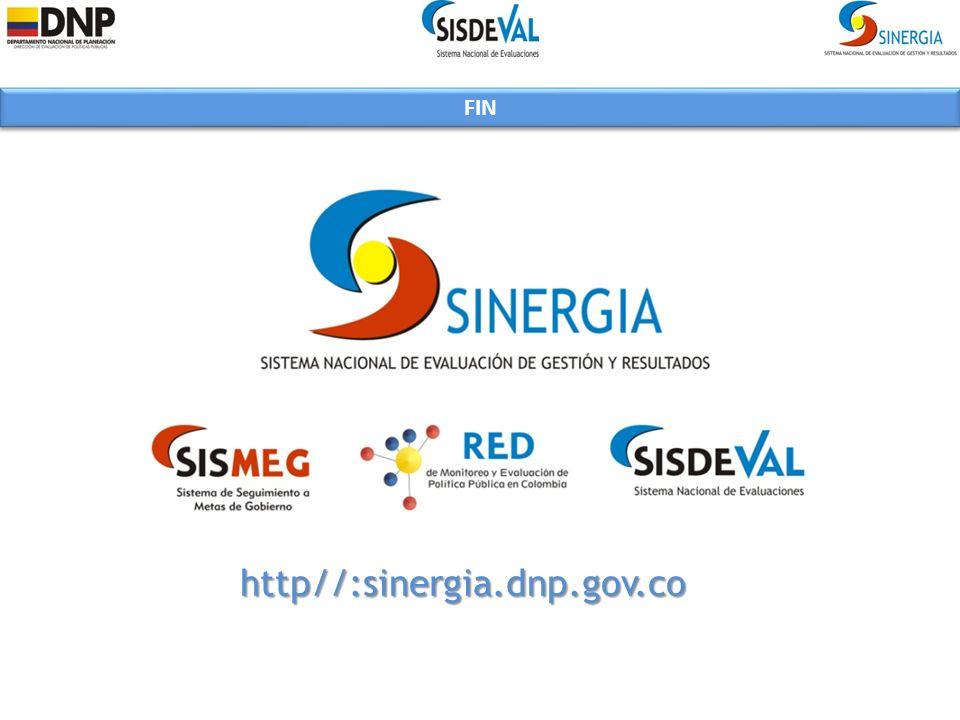 http//:sinergia.dnp.gov.co FIN