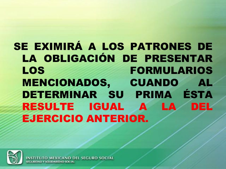 RECTIFICACION DE LA PRIMA ART. 32 FRACC VI (RACERF) EL INSTITUTO VERIFICARA LA INFORMACION PROPORCIONADA POR LAS EMPRESAS CONTRA SUS REGISTROS, Y SI D