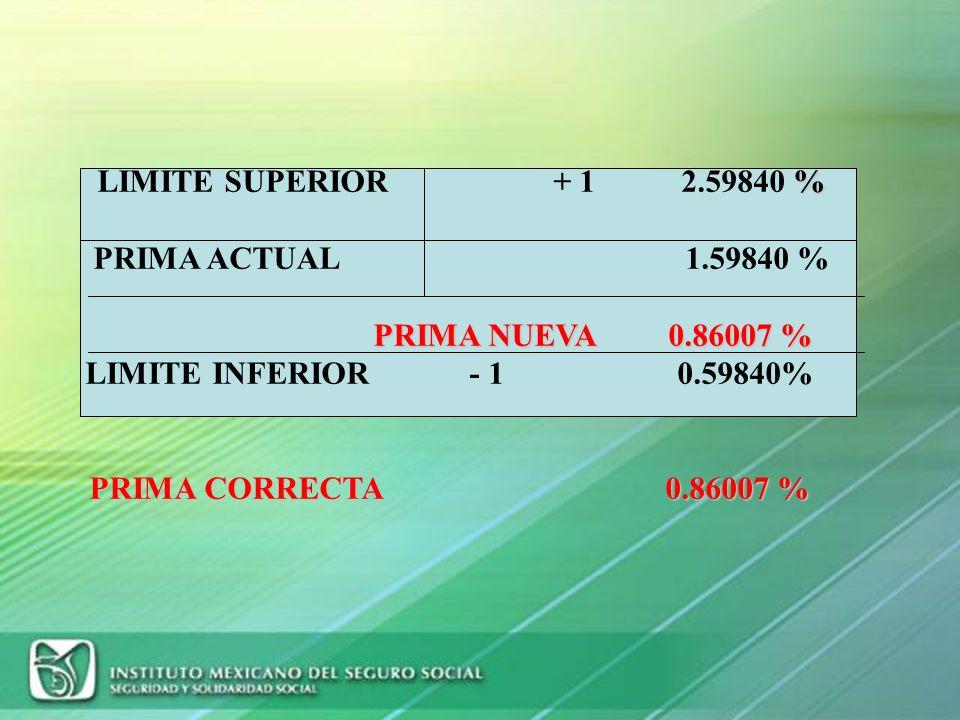 DESPEJE DE LA FORMULA (continuación) =[ 0.05479452 ] * ( 2.3/35.0) + 0.0050 =(0.05479452 * 0.0657142) + 0.0050 =0.003600778 + 0.0050 =0.008600778 * 10