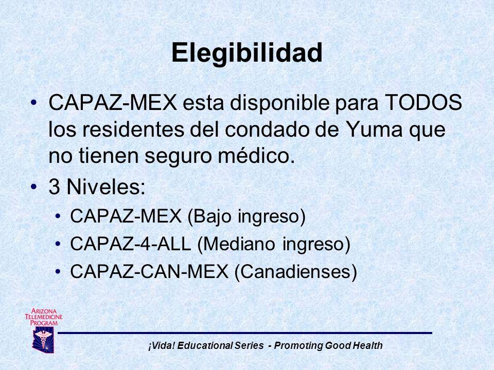 CAPAZ-MEX ayuda a los grupos que son excluidos de seguros médicos gubernamentales y privados.