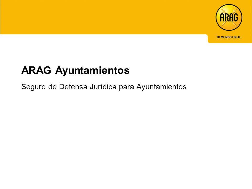 ARAG Ayuntamientos Seguro de Defensa Jurídica para Ayuntamientos