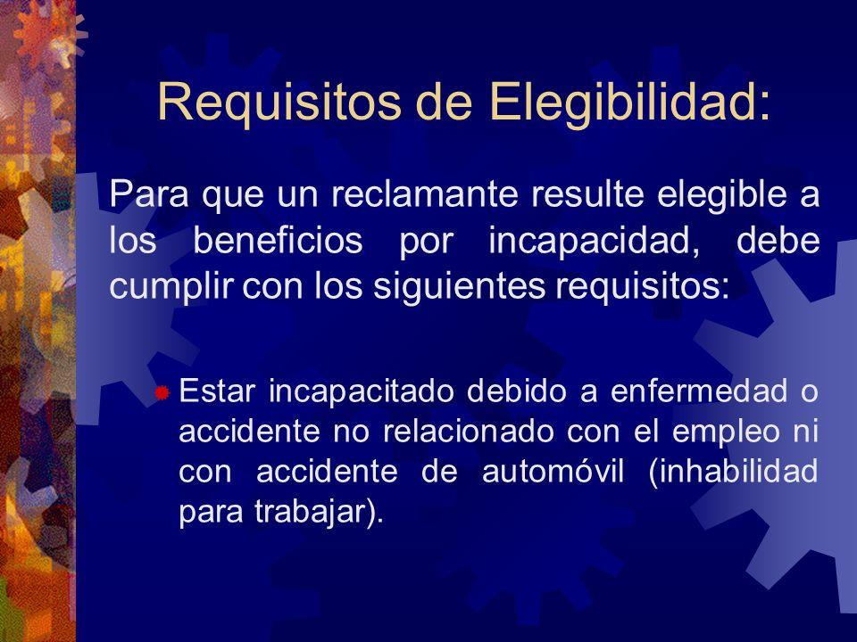 Empleados Excluidos: Cualquier persona empleada en un proyecto de trabajo para aliviar el desempleo llevado a cabo por el gobierno del E.L.A., o cualq