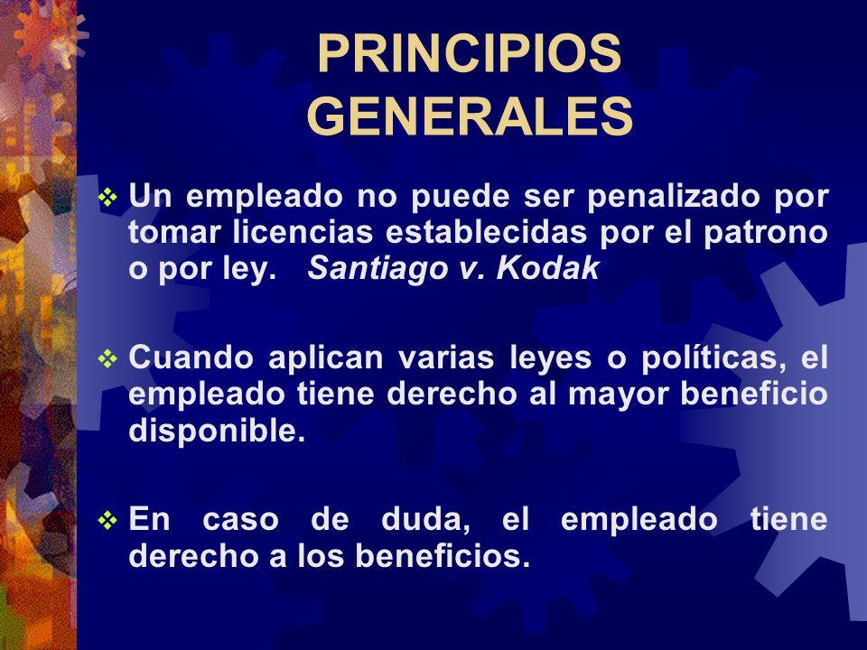 ¿Cómo puedo reducir el abuso de las licencias ? ¿ Qué obligaciones tiene el patrono para continuar con el plan médico? ¿Puedo despedir a un empleado q