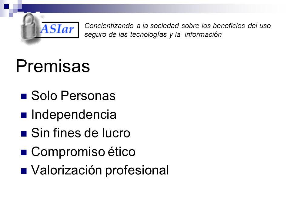 Concientizando a la sociedad sobre los beneficios del uso seguro de las tecnologías y la información Estado actual de la Seguridad en Internet ¿Que pasa en Argentina?