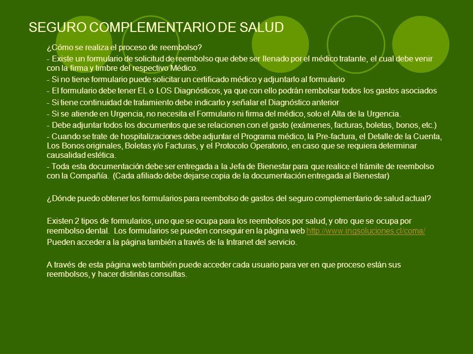 SEGURO COMPLEMENTARIO DE SALUD ¿Cómo puedo obtener la clave de Internet para acceder a la información de la página web del seguro ING.